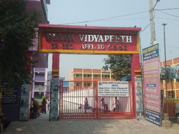 DELHI VIDYAPEETH SENIOR SECONDARY AFFI.TO CBSE