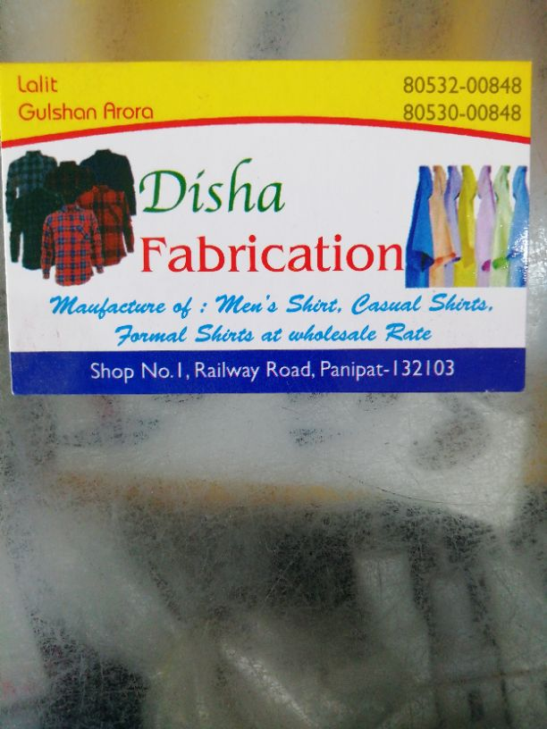 DISHA FABRICATION