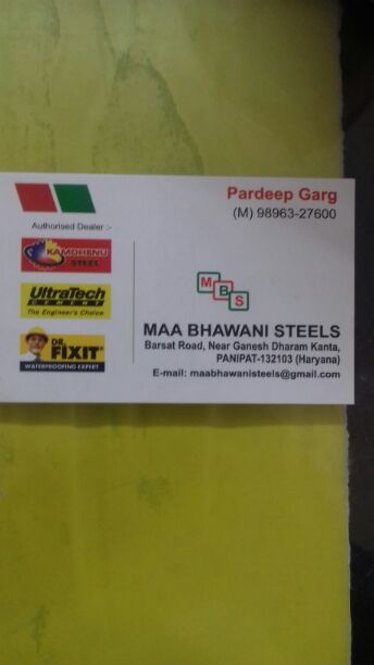 MAA BHAWANI STEELS