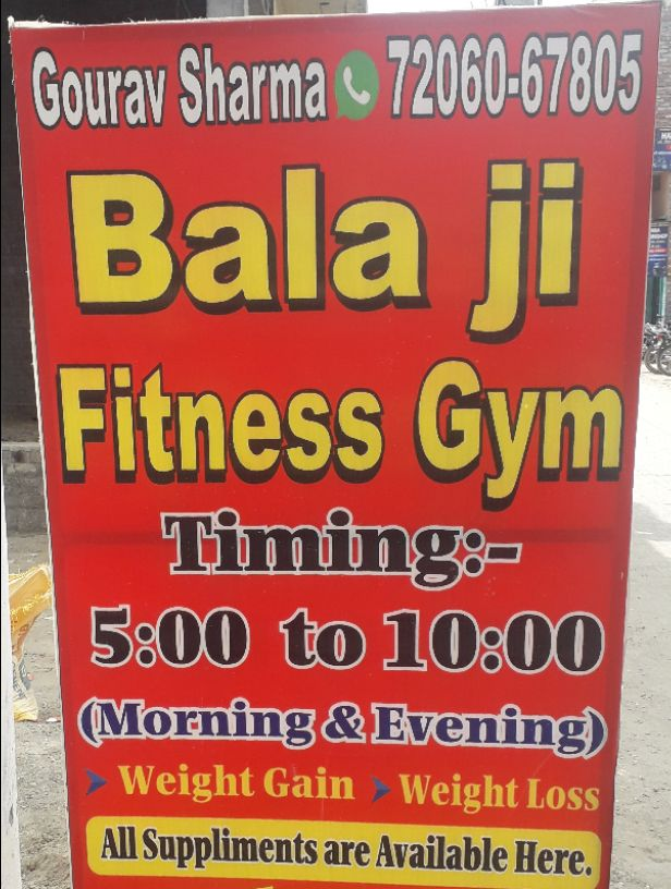 BALA JI FITNESS GYM