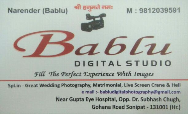 BABLU DIGITAL STUDIO