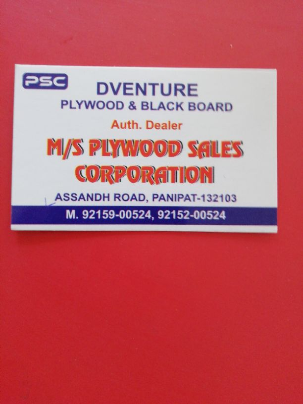 PLYWOOD SALES CORPORATION
