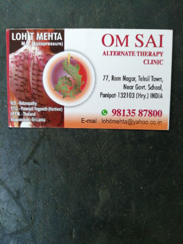 OM SAI ALTERNATE THERAPY CLINIC