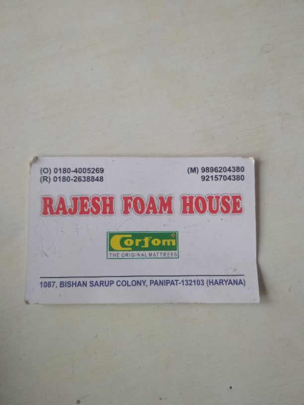 RAJESH FOAM HOUSE