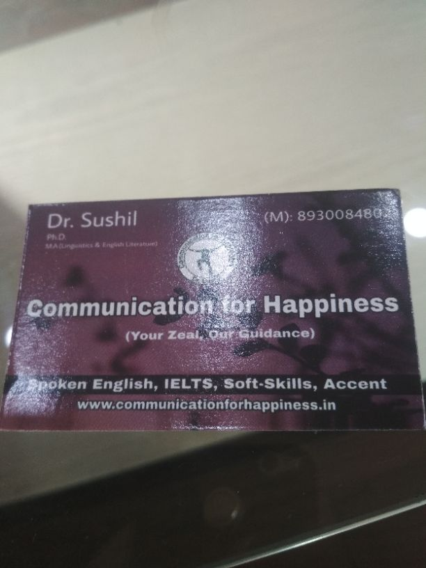 COMMUNICATION FOR HAPPINESS