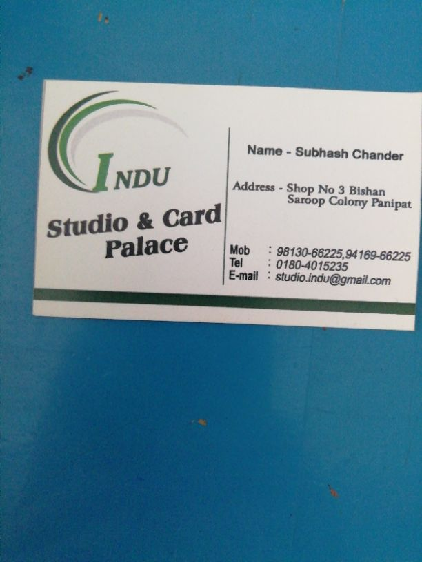 INDU STUDIO AND CARD PLACE