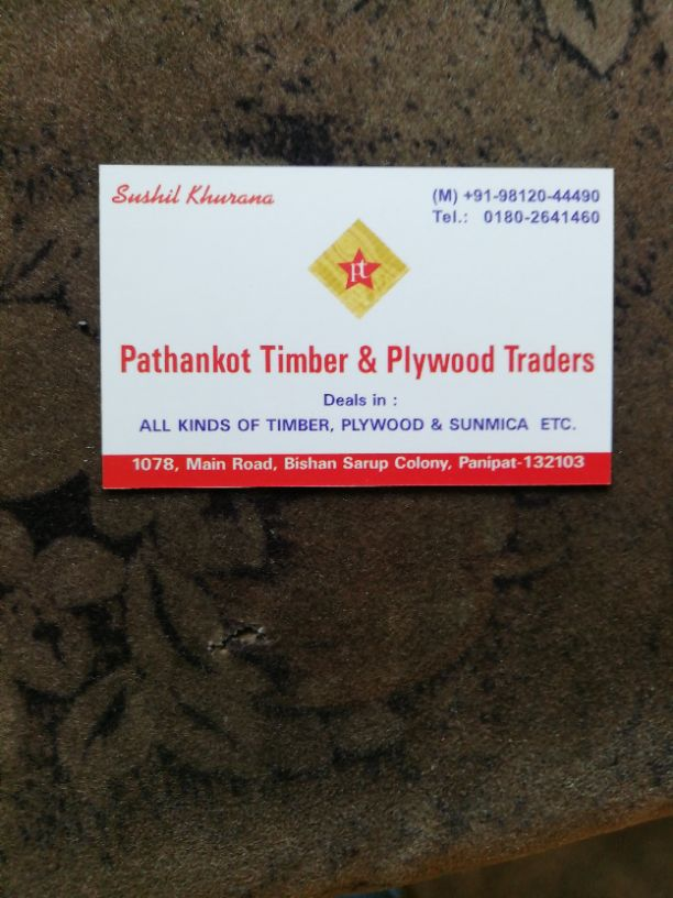 PATHANKOT TIMBER AND PLYWOOD TREDERS