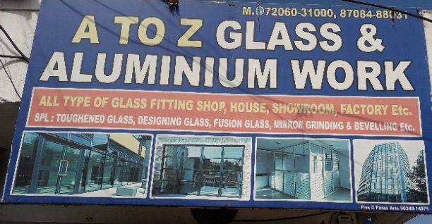 A TO Z GLASS AND ALUMINIUM WORK