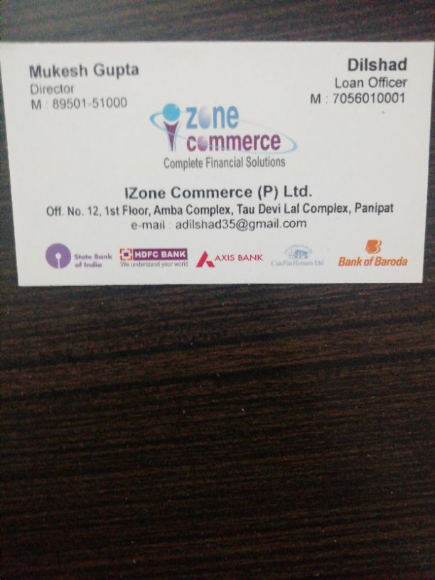 IZONE COMMERCE PVT LTD