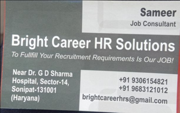BRIGHT CARRER HR SOLUTIONS