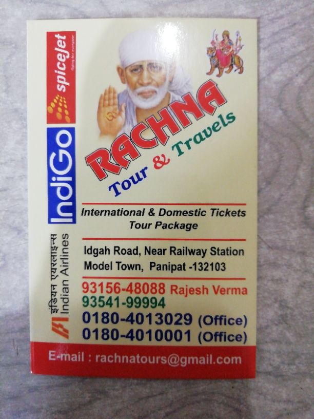 RACHNA TOUR AND TRAVELS