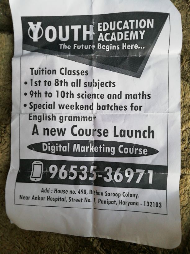 YOUTH EDUCATION ACADEMY