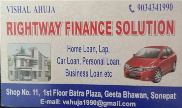 RIGHTWAY FINANCE SOLUTION